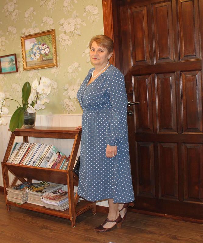 Платье вгорошек от Игнатова НВ