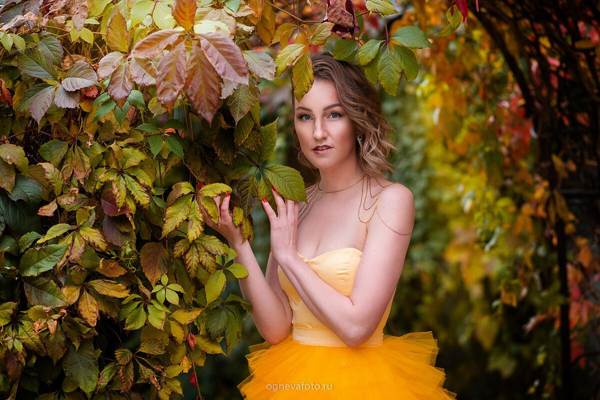 Платье «Осень» от Ксения Огнева