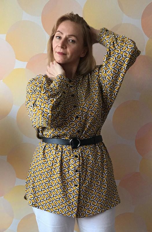 Свободная блуза извискозы от SvetlanaNaumova