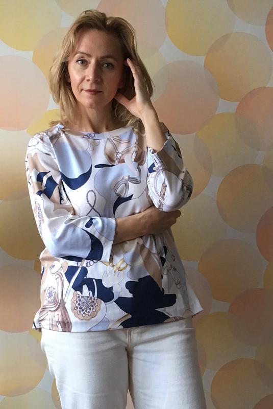 Комфортный повседневный пуловер от SvetlanaNaumova