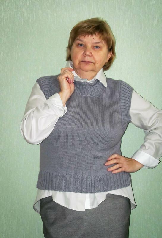 Мини-жилет - беспроигрышный вариант от Елена  arvovna