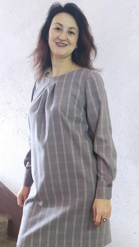 Платье вклетку от Lud_ok