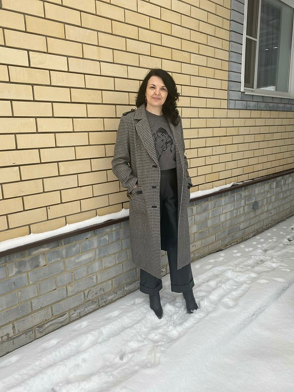 Пальто от Elena Sharunina