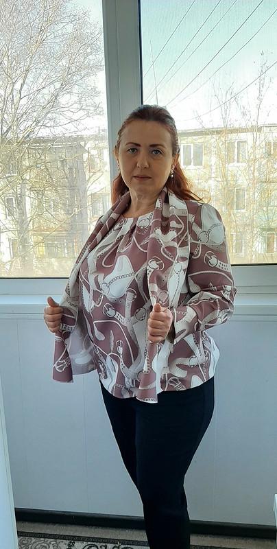 Блузка «Цепи иремни» от Аleta