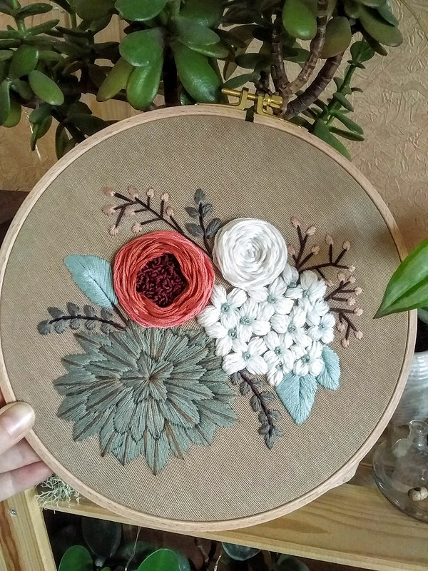 Вышивка «Desert rose» от DariaDanja