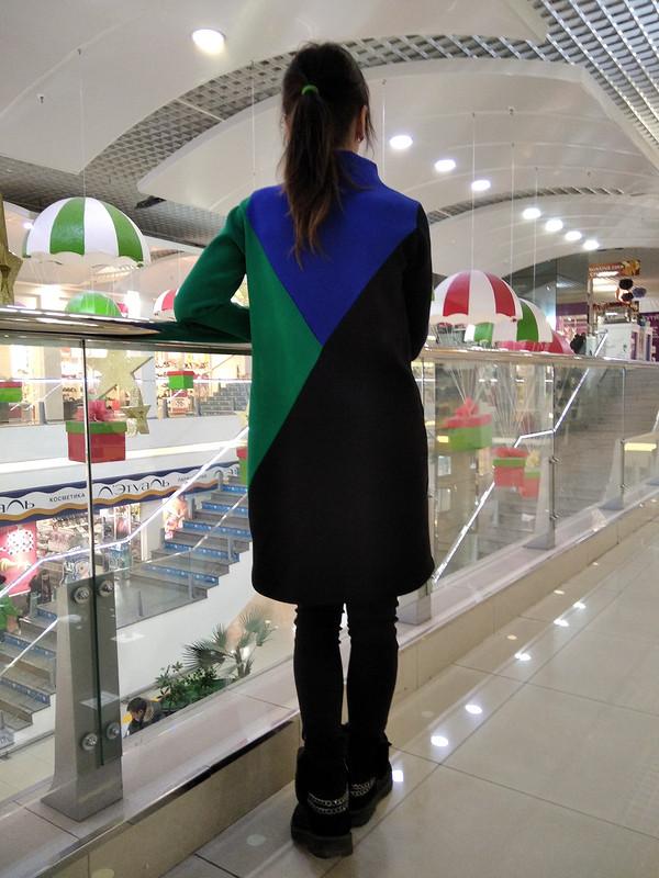 Платье просто «Космос» от @shatekate