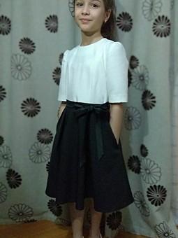 Работа с названием Платье для доченьки 1/2021/130