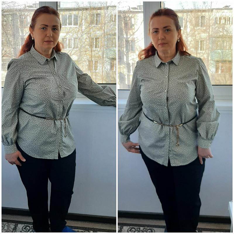 Блузка ипластрон изатласных лент от Аleta