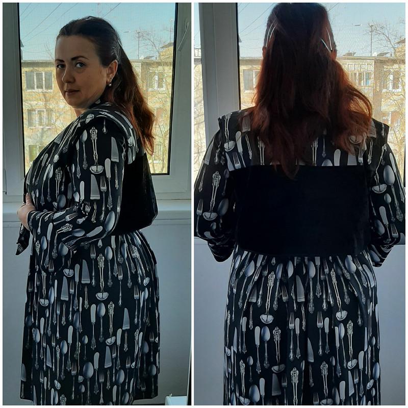 Платье «Столовые приборы отDolce&Gabbana» от Аleta