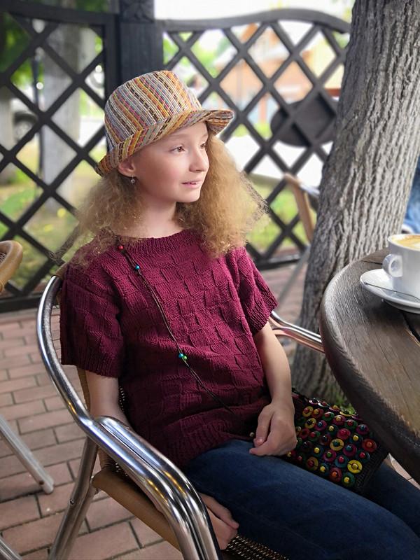 Пуловер «Будет день-будет кофе!!!» от kistochka