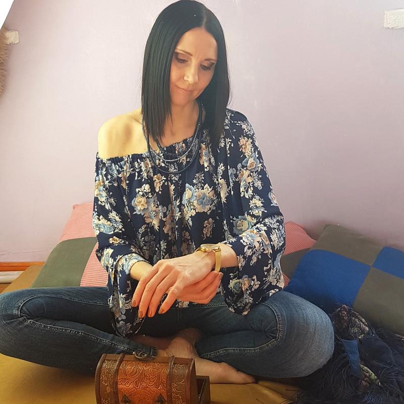 Цветочная блузка от Ольга Малышко