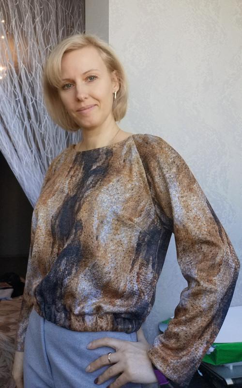 Простой пуловер от LenokA