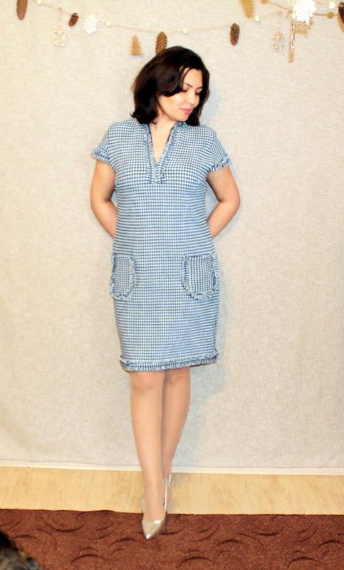 Платье «И мой гештальт теперь закрыт» от donaLana