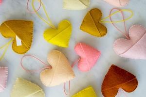 Идея: милые сердечки с секретом к 14 февраля