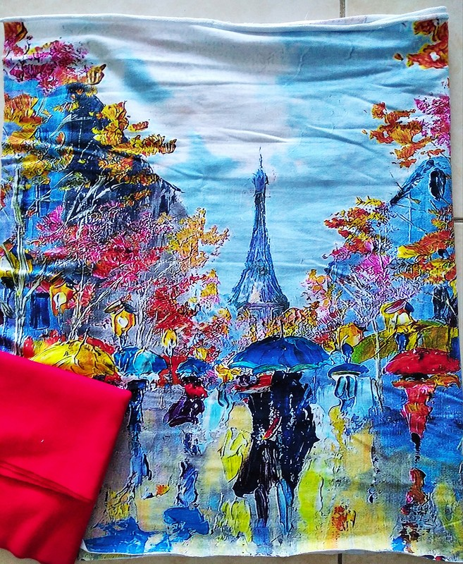 Свитшот «Шербургские зонтики» от Olga Chertkova