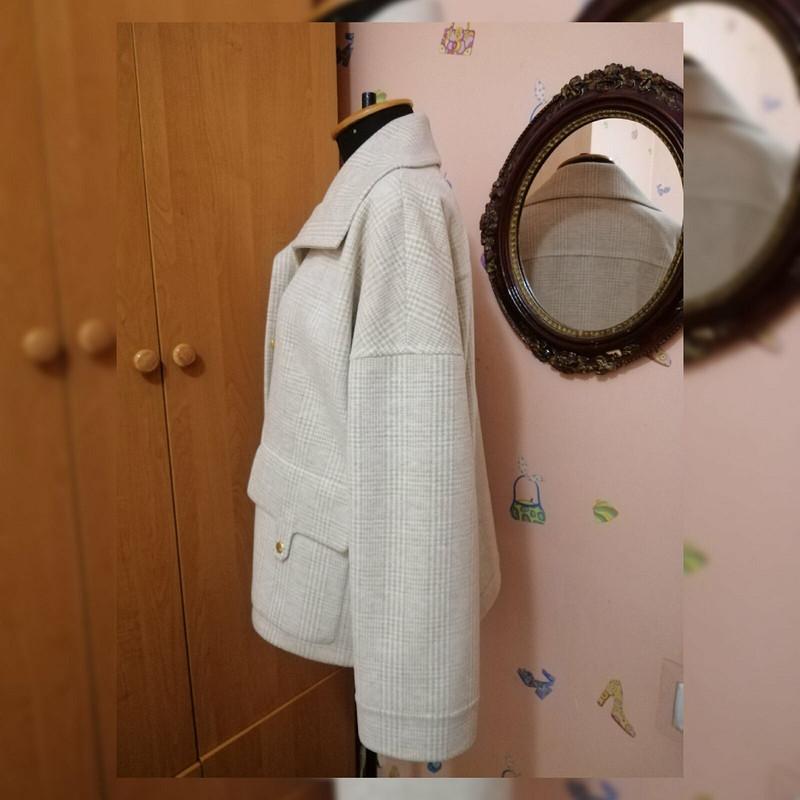 Куртка вклетку помотивам Loro Piana от silvaveresky