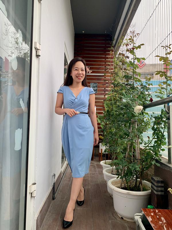 Платье «Summer fresh» от Binh Ngo