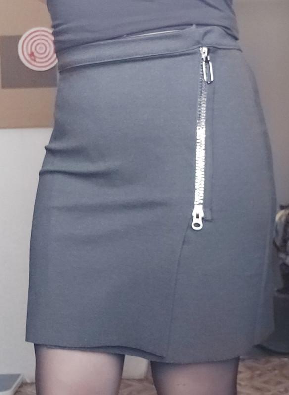 Мини-юбки сзапахом от Ольга
