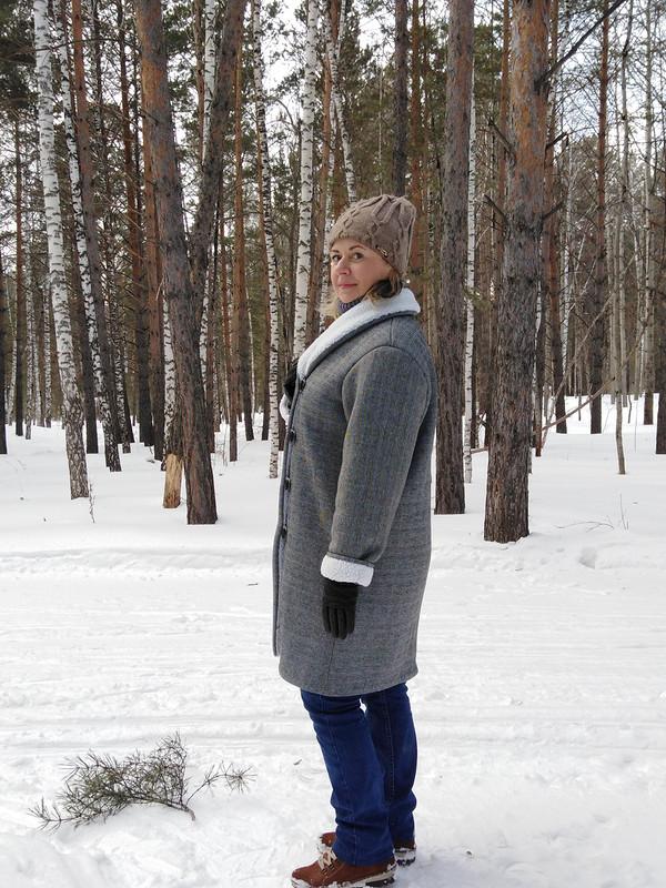 Пальто наискусственной овчинке от elena