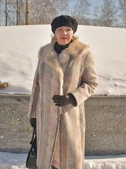Работа с названием Мое зимнее, любимое пальто