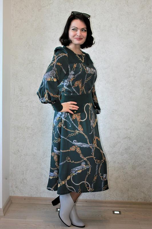 Платье цвета Eden идрагоценная кошка дома Cartier от -OlgaBird-