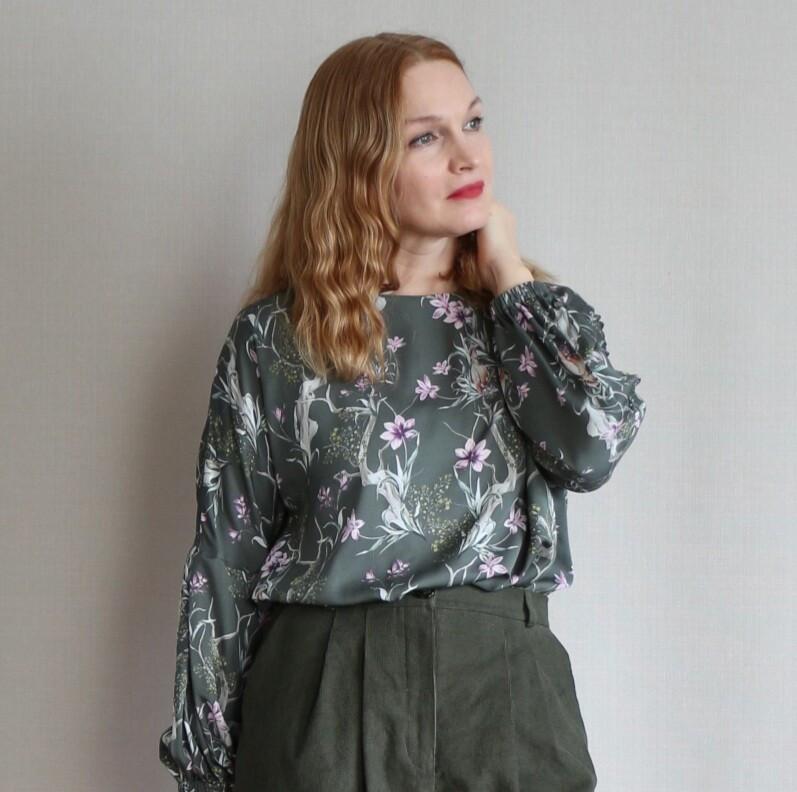 Весенняя блузка от Elena Leo