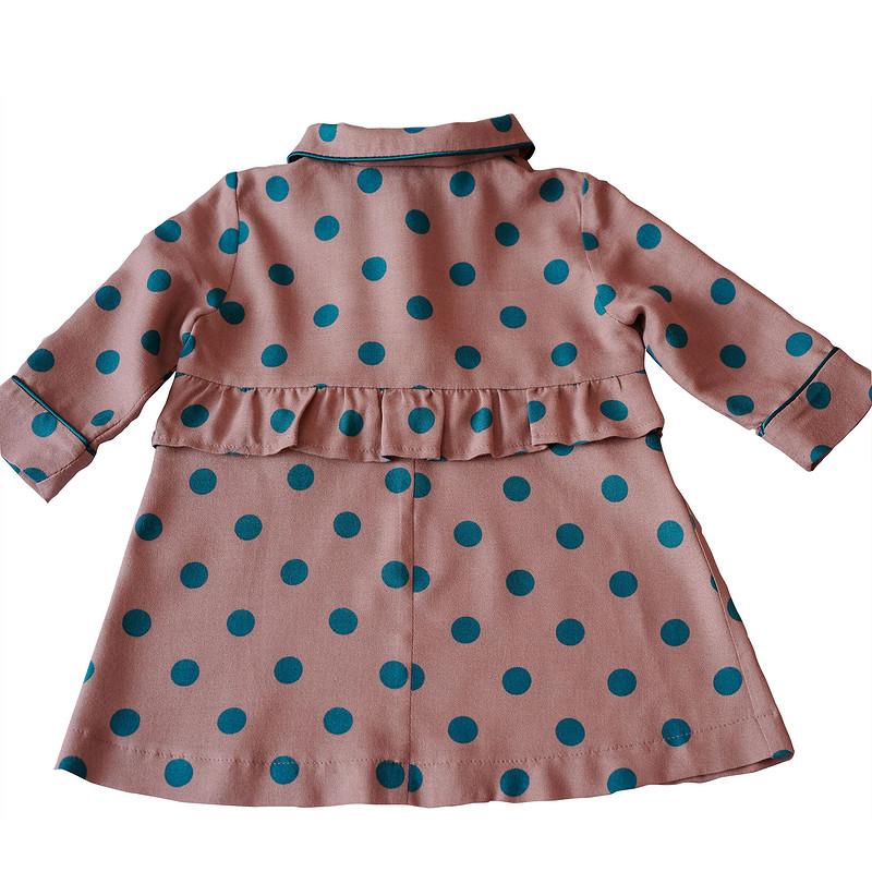 Платье надевочку измикровельвета от politu