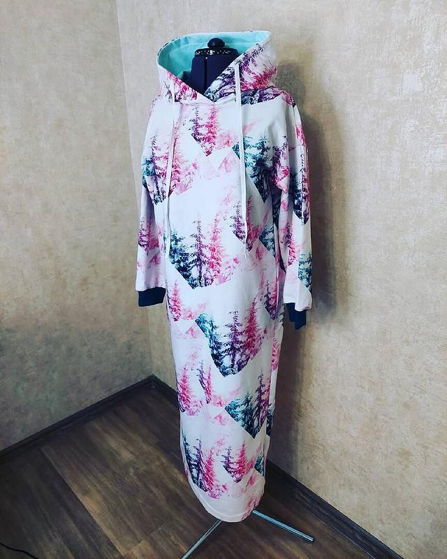 Трикотажное платье «Сказочный лес» от Katherina_Belyaeva