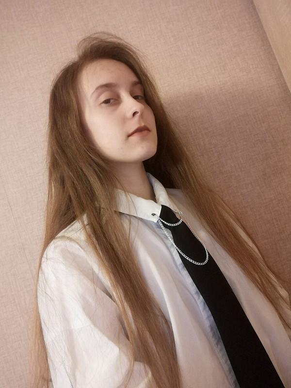 Просто чёрный галстук от Labyrinth
