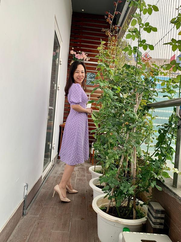 Платье «Little baby purple dress» от Binh Ngo