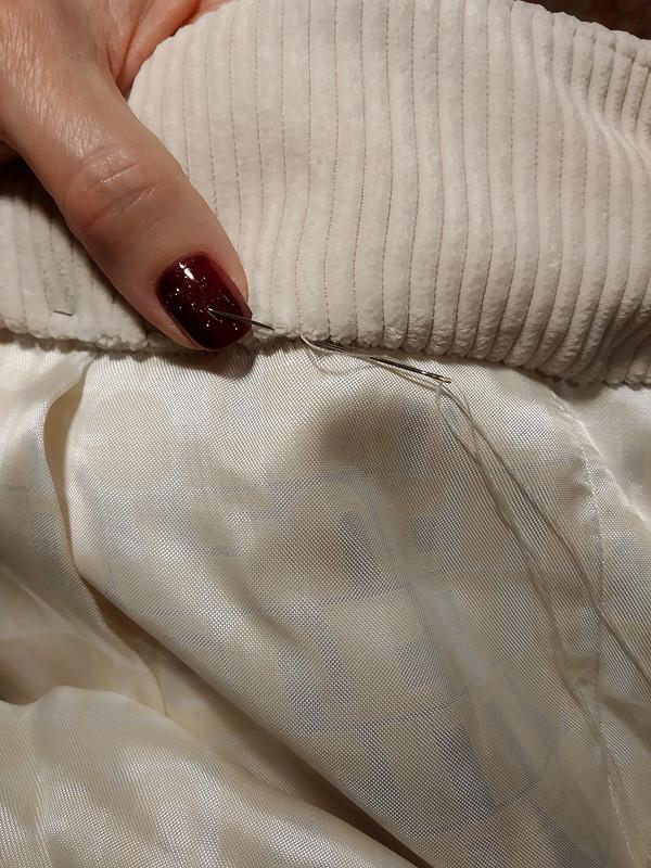 Вельветовые брючки инемного апсайклинга от Азалия
