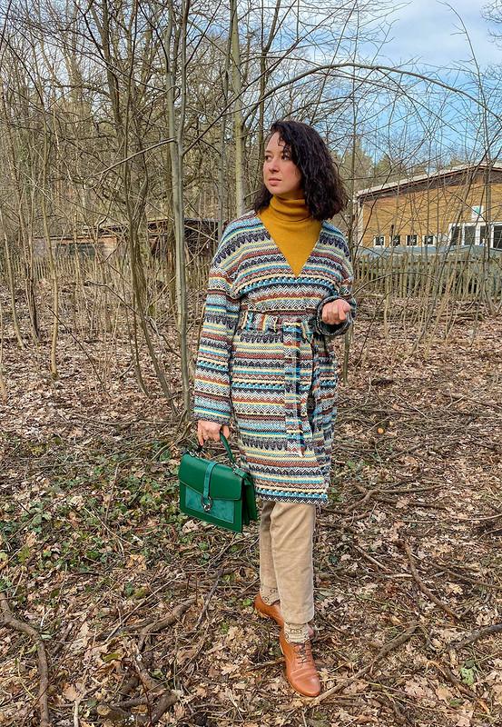 Пальто вэтническом стиле от @Dariaschade