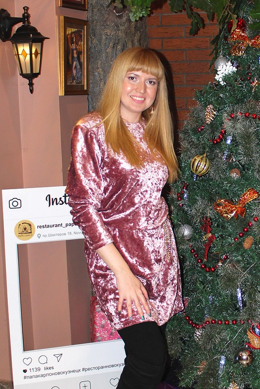 Платье избархата от MilAnna