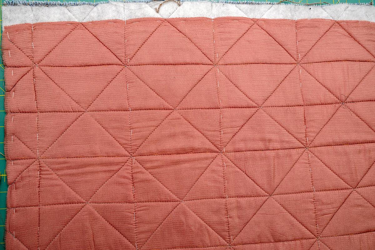 Стеганая твидовая юбка от irinabeletskaja