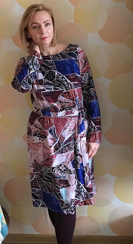 Платье с«фартуком» изштапеля от SvetlanaNaumova