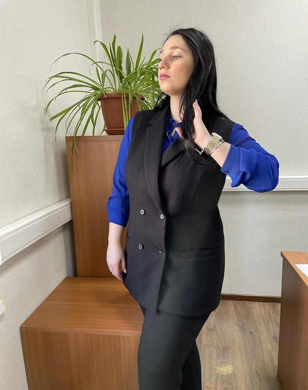 Офисный жилет от shemyreva_yulia