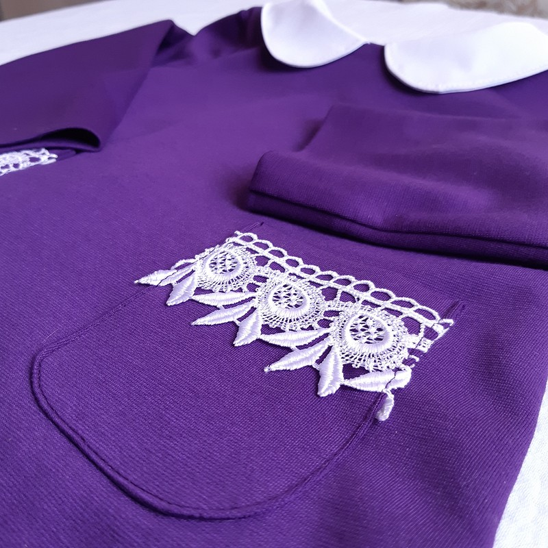 Полувер-блузка длядевочки от Tatiana_Golikova