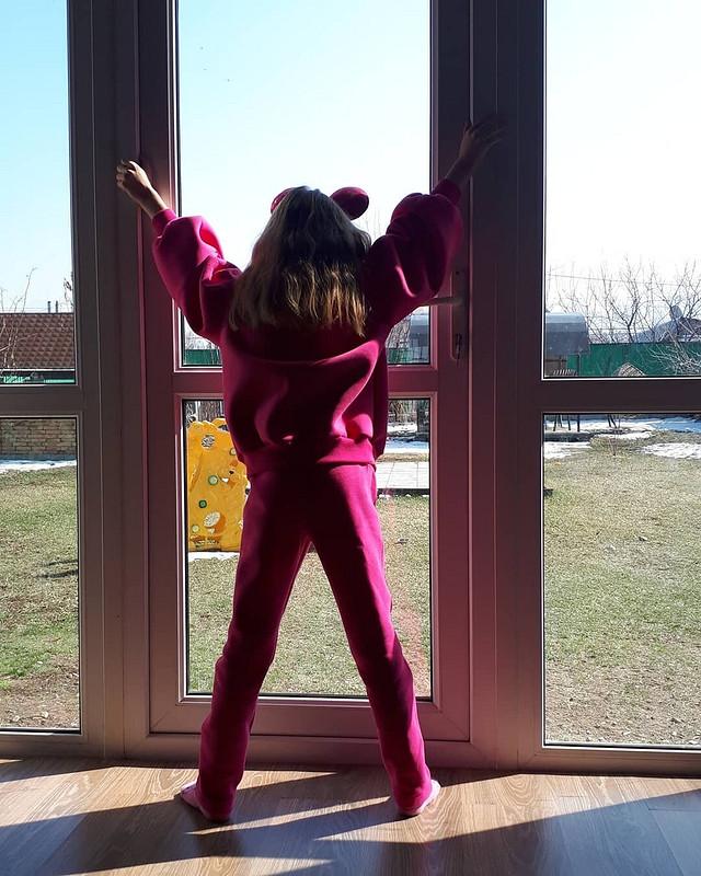 Пуловер ибрюки «Фуксия» от TanyushkaPavlova