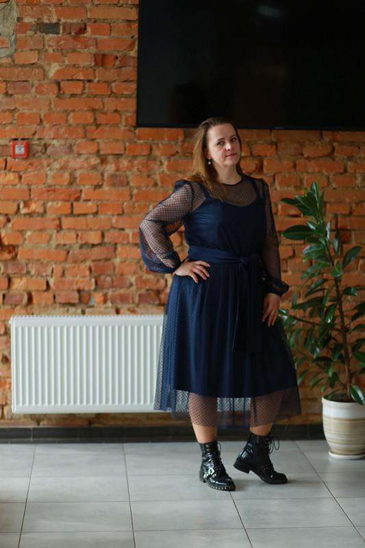Платье «Мой любимый синий» от Hatana