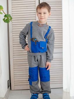 Работа с названием Спортивно-строительный костюм для сына