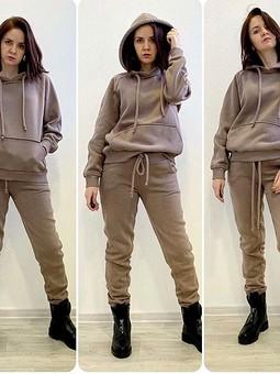 Работа с названием Трикотаж: ксотюм, платье, пуловер
