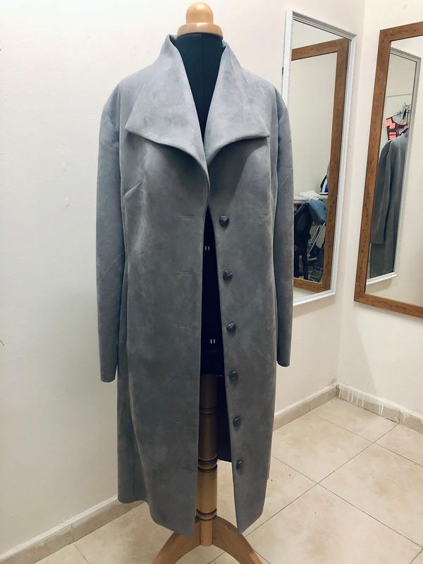 Пальто изискусственной замши от Myla