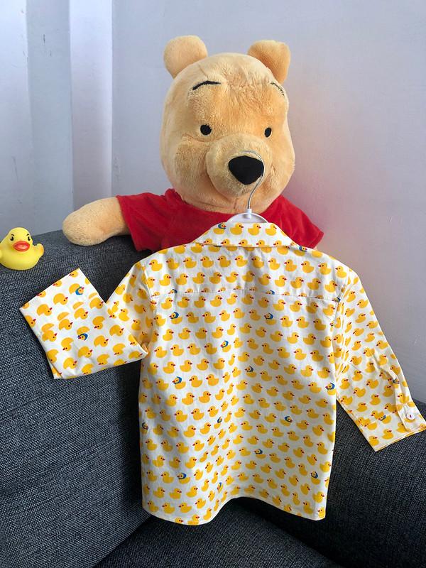Рубашка суточками длясынишки от Myla