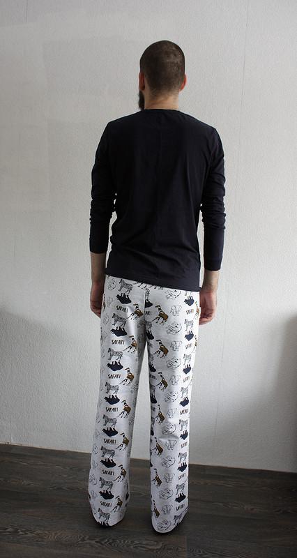 Домашние штаны изфутера от Vi0letta