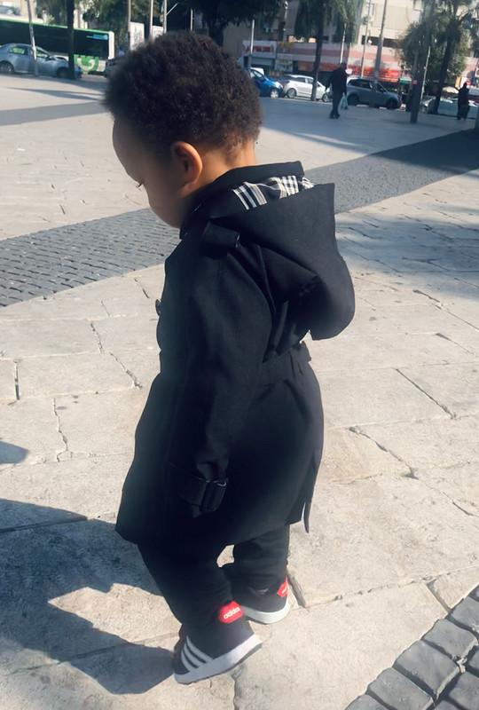 Легендарный тренч длямаленького модника от Myla
