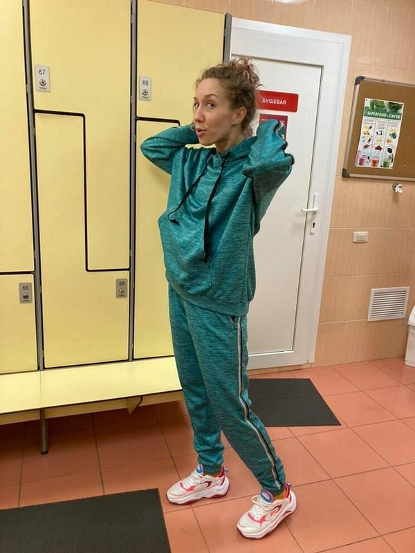 Спортивный костюм изфлиса от Ирина Романенко