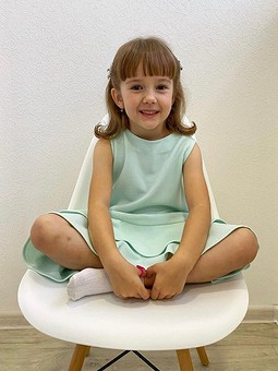Работа с названием Детское платье