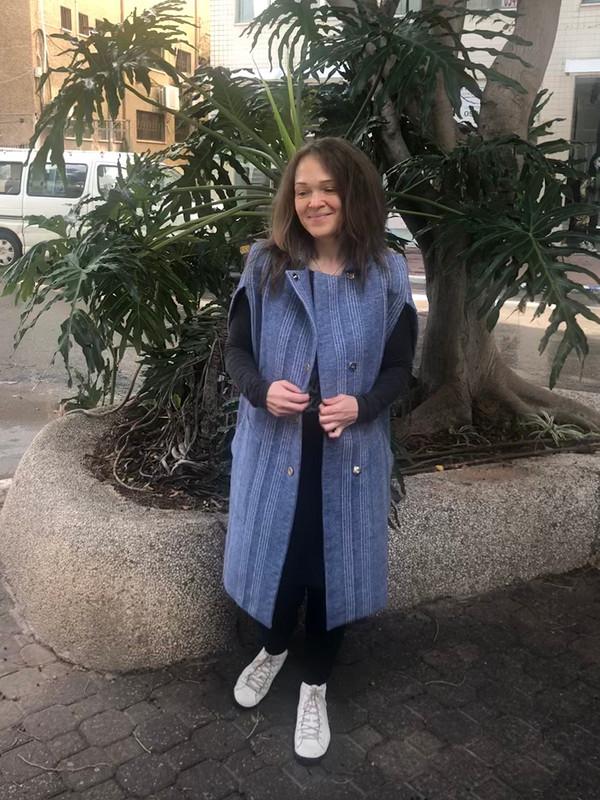 Пальто-жилет-кейп от Myla