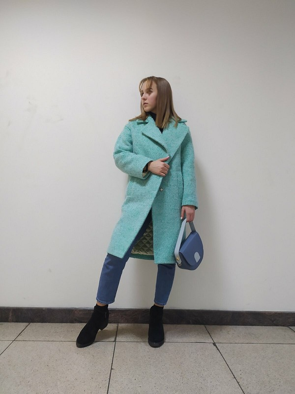 Пальто «Удачный недошив» от NataliSh