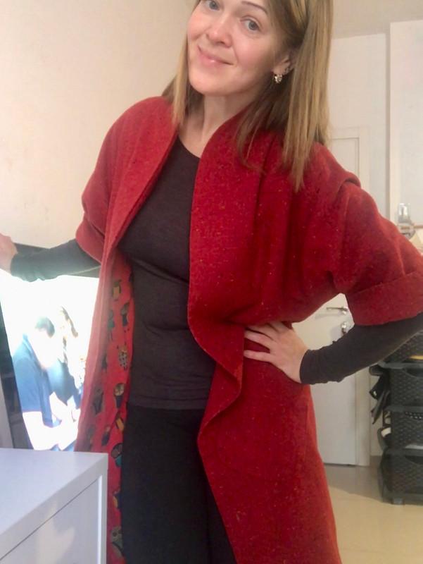 Мое игривое пальто от Myla